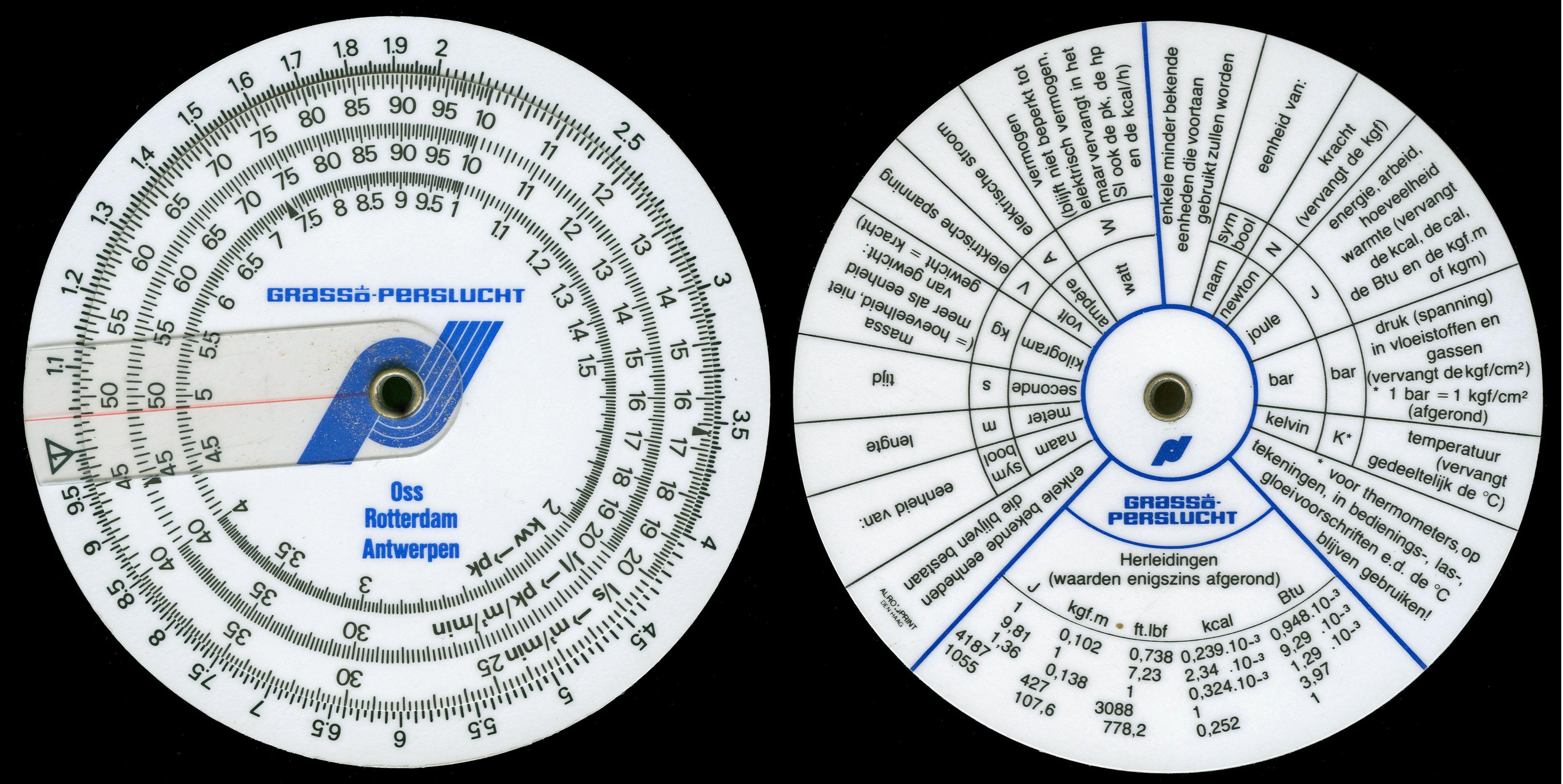 ALRO GRASSO-PERSLUCHT (AC-2.22) Refrigerant/Conversion