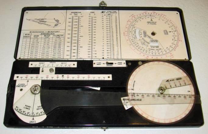 COX & STEVENS Aircraft Corp. M.L. Navigatie-Doos Navigational Boxed