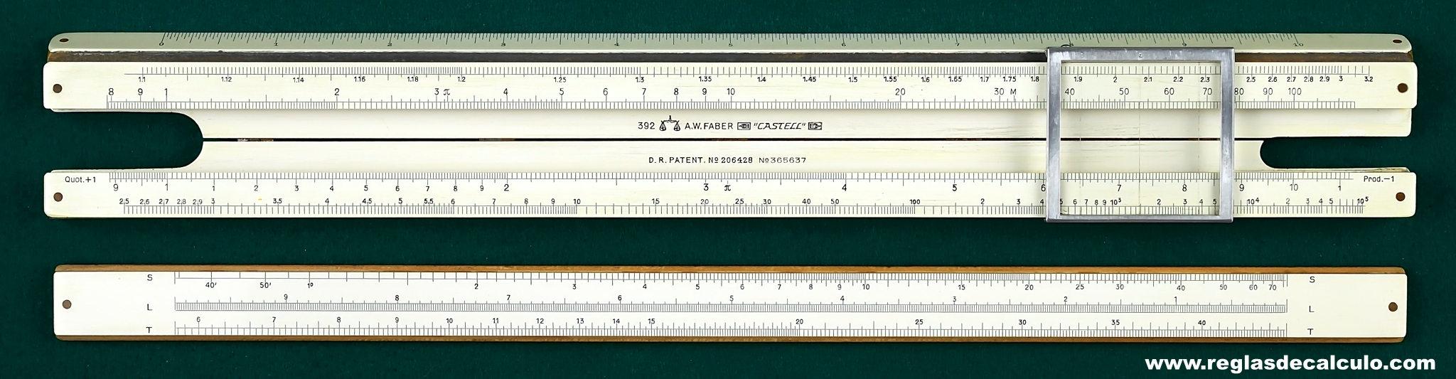 A.W. Faber-Castell 392 Log-Log