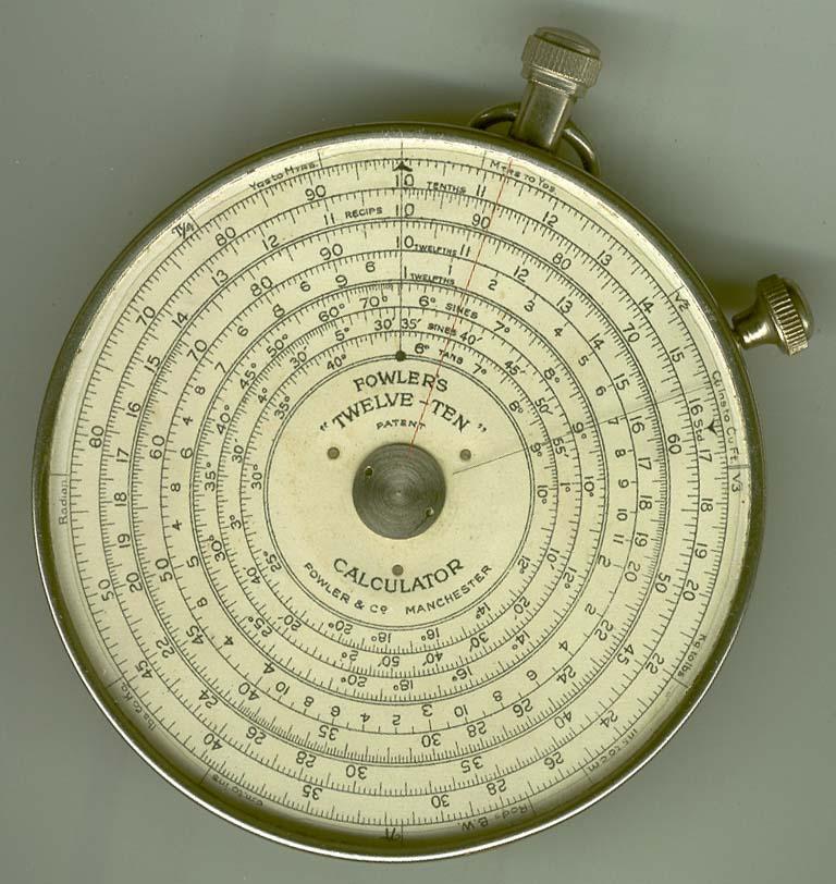 Fowler Twelve-Ten Pocket-Watch Surveying - early
