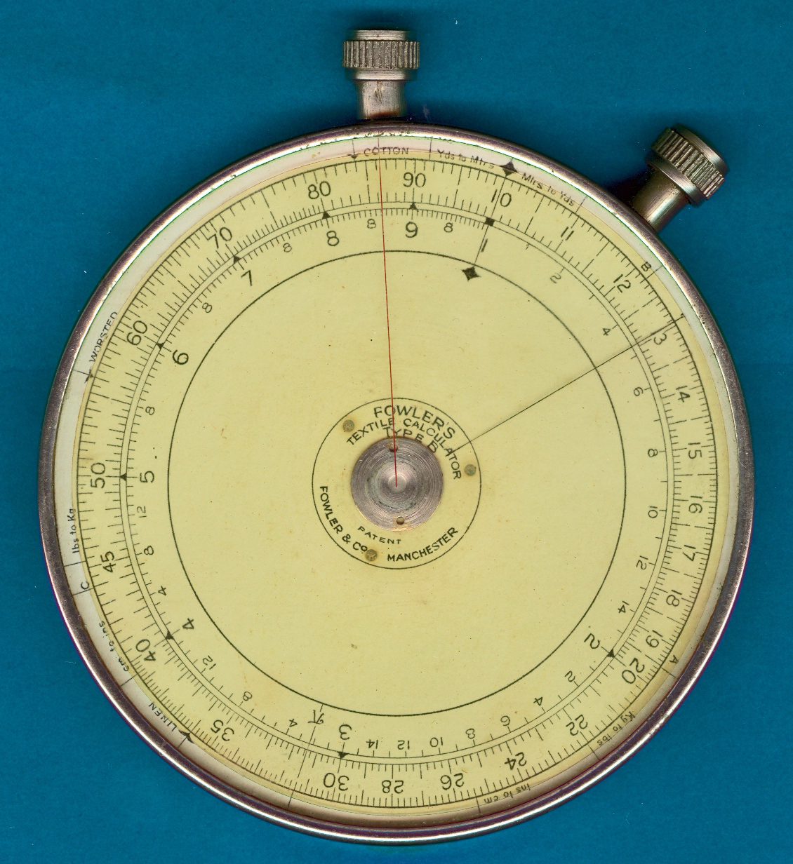 Fowler Type B Pocket-Watch Textile