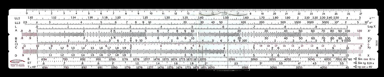 Graphoplex 1614 School Log-Log
