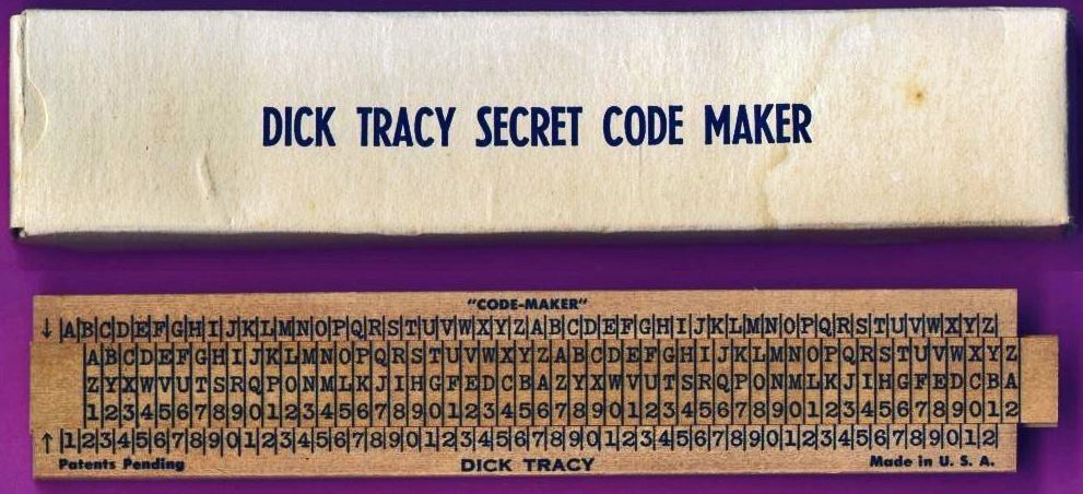 Lawrence Engineering Services Code-Maker Dick Tracy