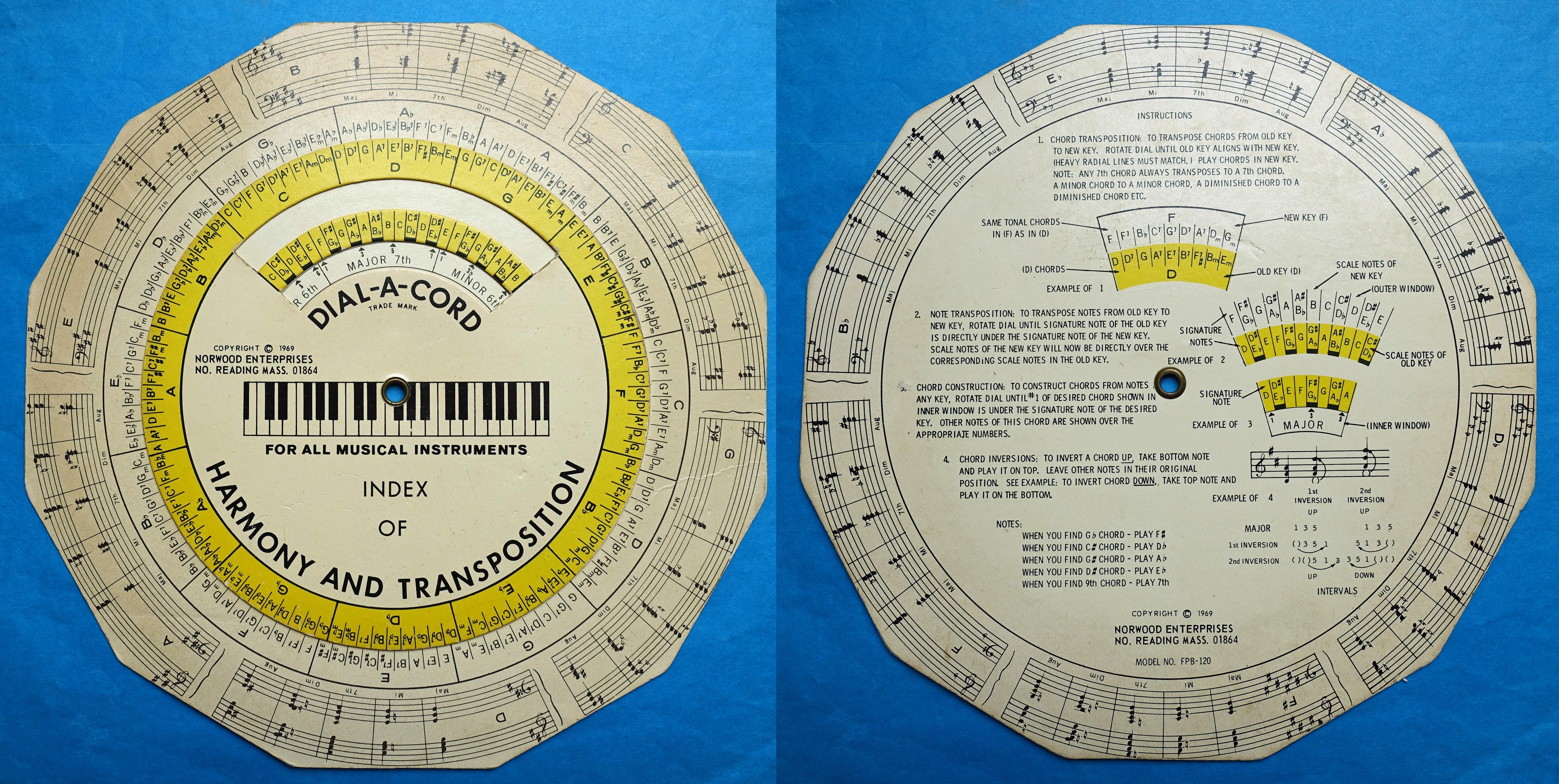 Norwood Enterprises FPB-120 Desktop Music Composition