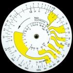 ALRO RADIOLOGISCHE REKENSCHIJF (AC-7.01) Pocket Military Radiation